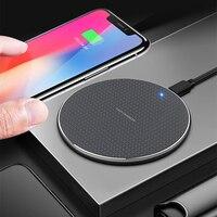 Беспроводное зарядное устройство Qi, 10 Вт, для iPhone 11, 12 Pro, XS Max, XR, Samsung S20, Xiaomi, Huawei, Android