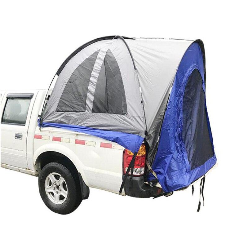 2-3 personas al aire libre Pickup camión tienda viaje Camping toldo tienda Pergola carpa techo COCHE Tienda Shlter auto conducción COCHE Tienda