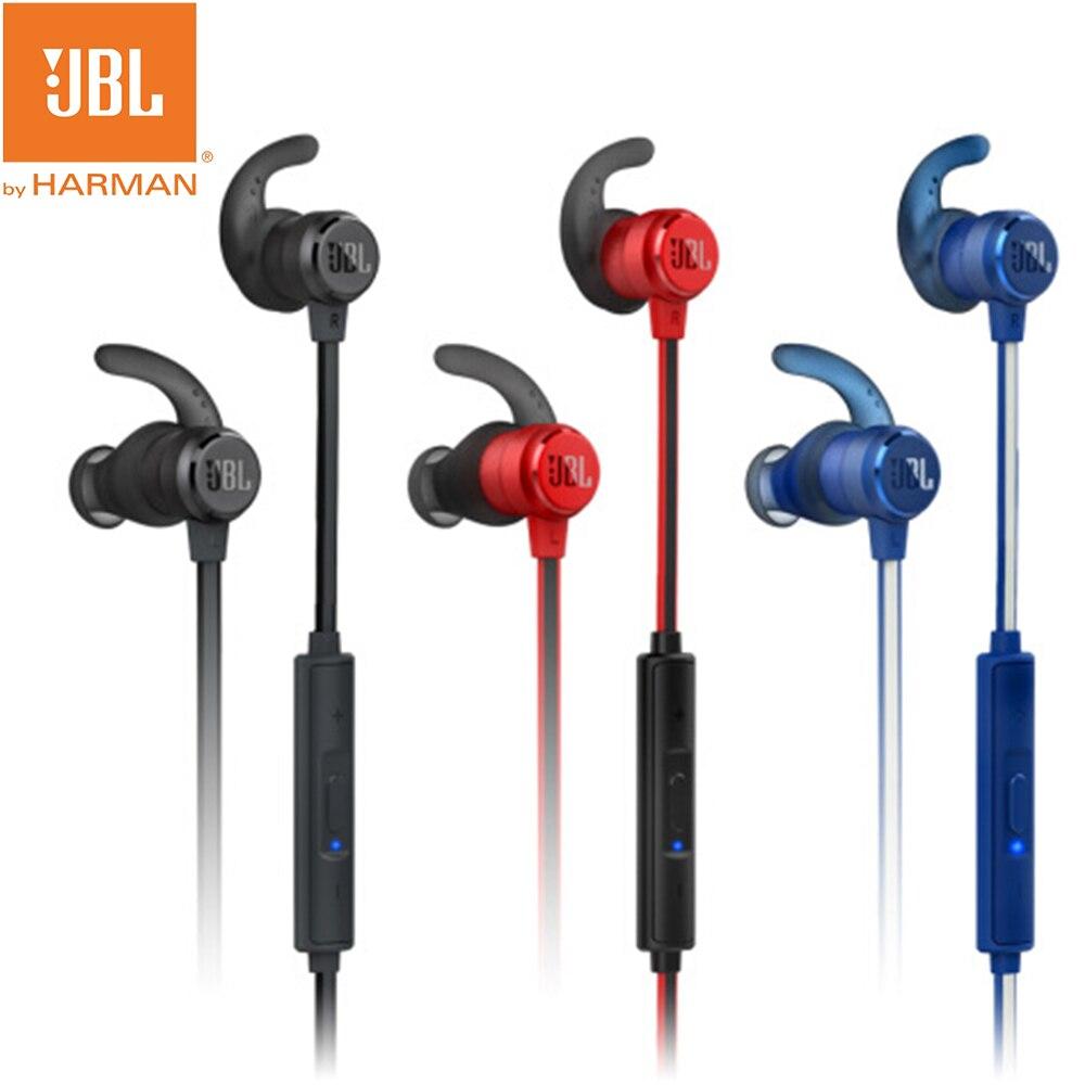 Nuevos auriculares intrauriculares inalámbricos JBL T280BT con Bluetooth, auriculares inalámbricos estéreo de graves profundos, Auriculares deportivos para correr con micrófono