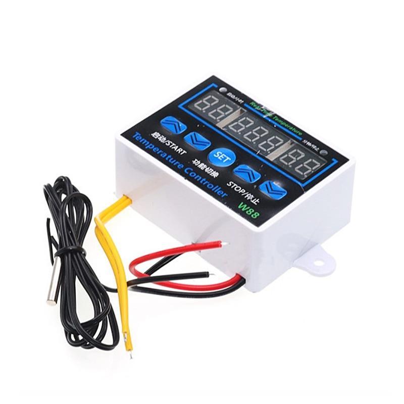 Controlador de temperatura XH-W1411, termostato Digital, Control de calefacción y refrigeración, incubadora inteligente