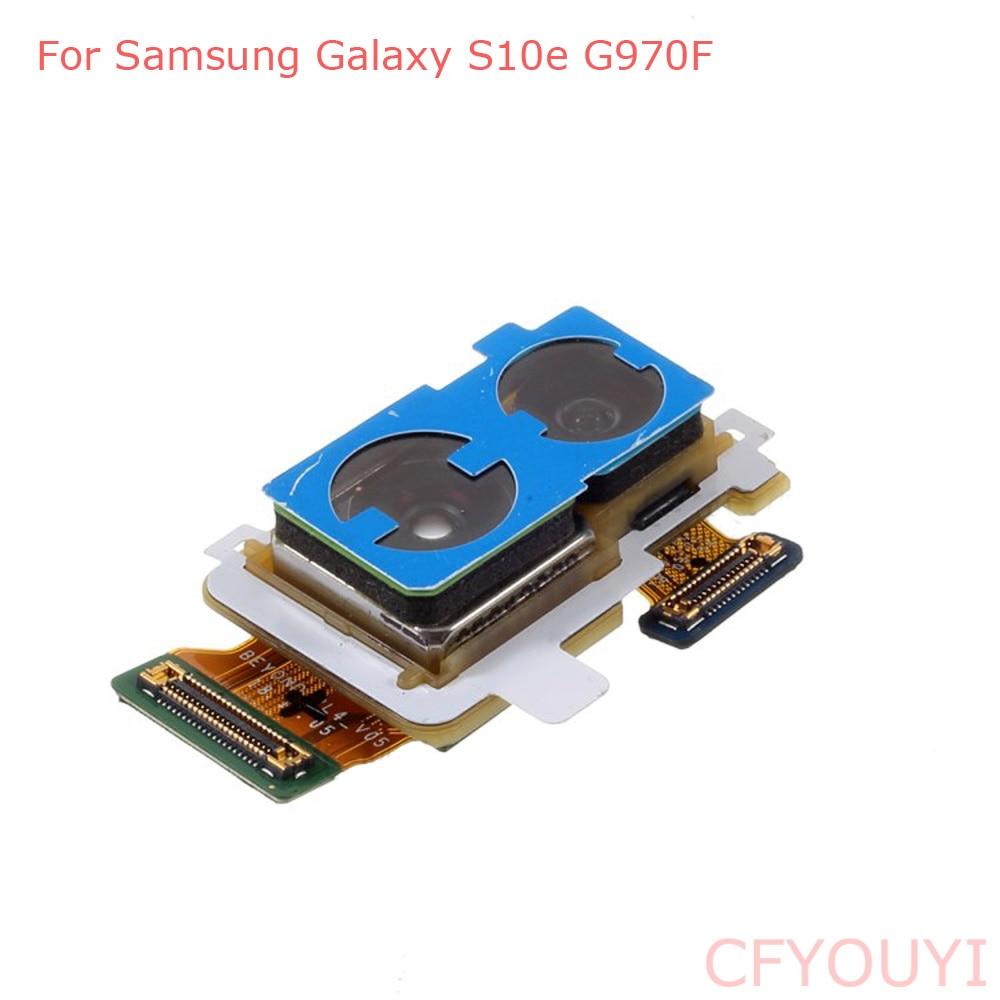 Original Big Back Rear Camera Module Part Flex Cable For Samsung Galaxy S10e G970F 16MP+12MP
