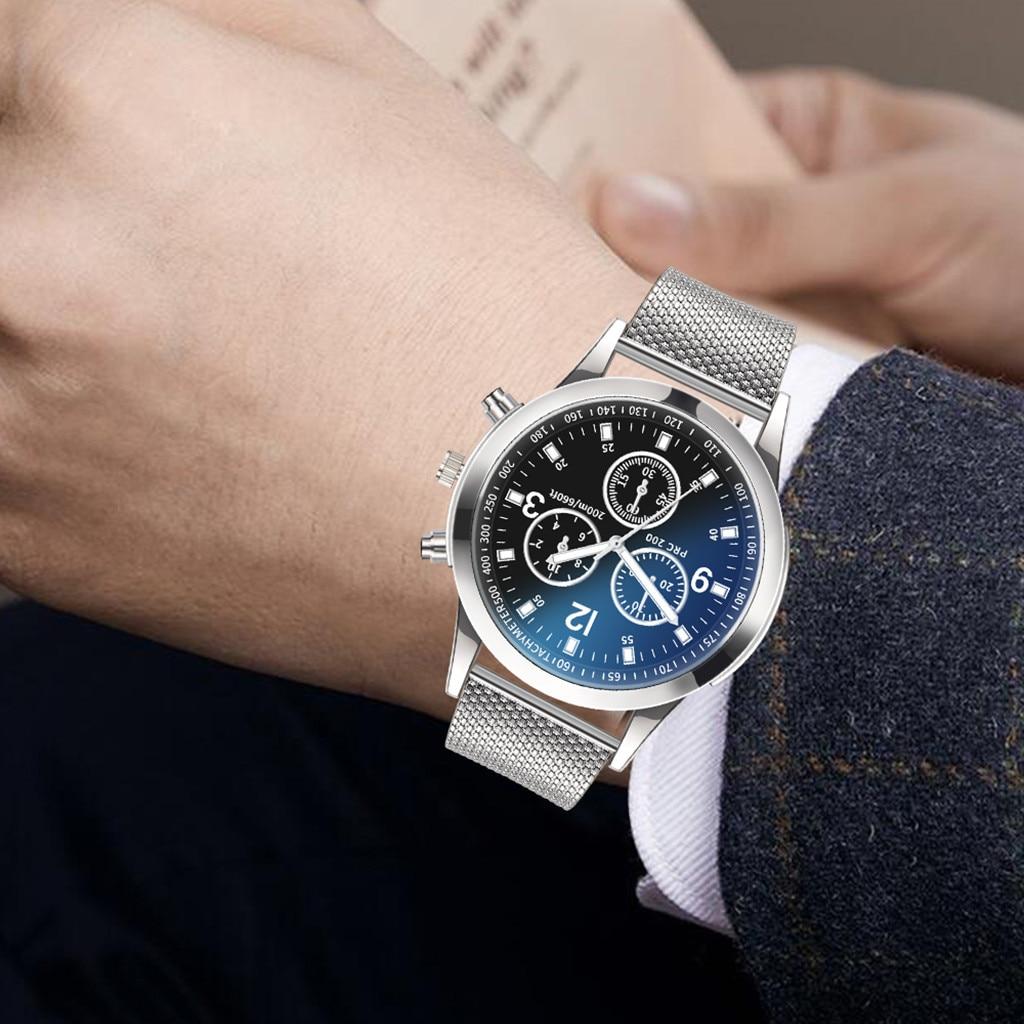 Luxury Watches Quartz Watch Men Waterproof Mechanical Watch Stainless Steel Dial Casual Bracele Watc