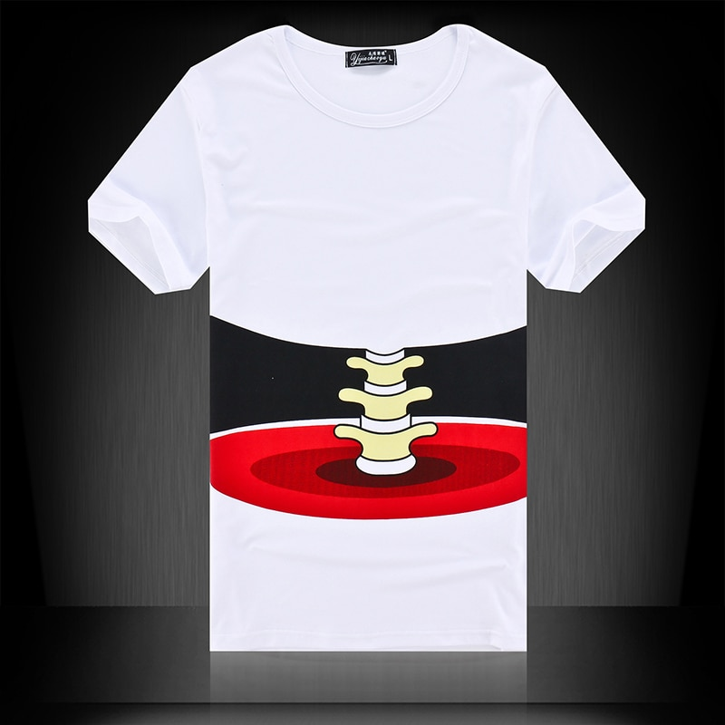Camiseta North, camisetas 3D creativas para hombre, camisetas de verano para hombre, camisetas con cara, ropa de calle de talla grande coreana, camisetas para hombre 2020, oferta