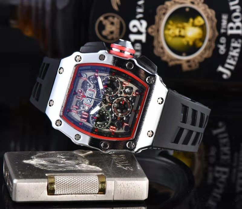 Marca líder RM 1 1, relojes para hombre 2020, relojes de lujo, reloj de pulsera masculino, reloj de cuarzo mecánico resistente al agua