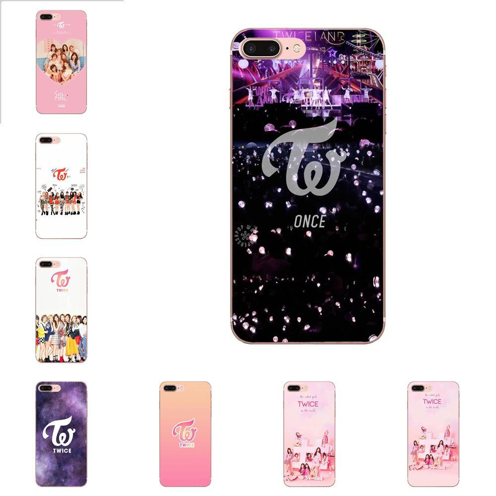 Weiche Call Box Für Galaxy J1 J2 J3 J330 J4 J5 J6 J7 J730 J8 2015 2016 2017 2018 mini pro Zweimal Mina Momo Kpop Einzigartige Design