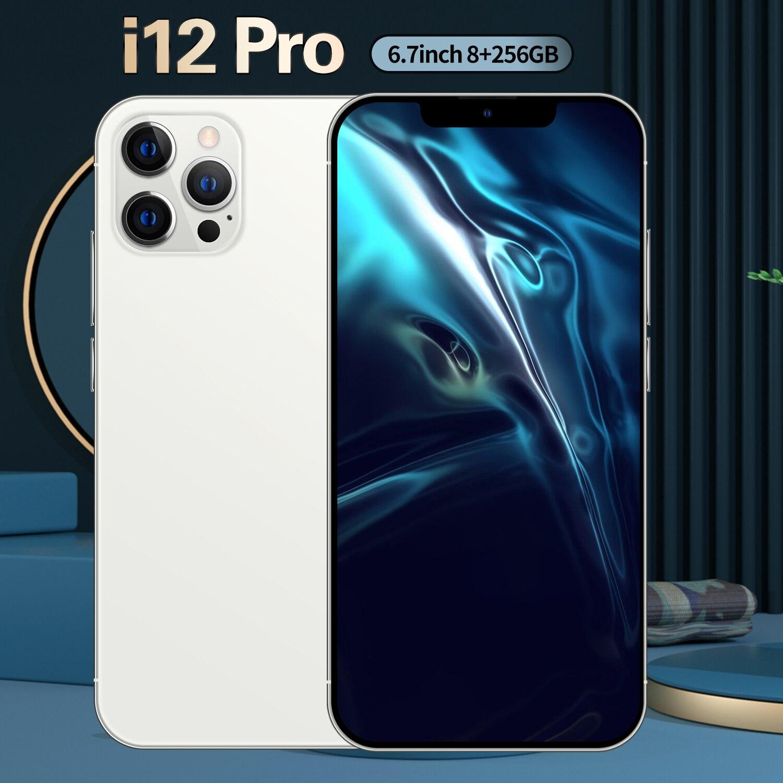 هاتف ذكي ، i12 Pro ، 8GB ، 6.7 GB ، 865