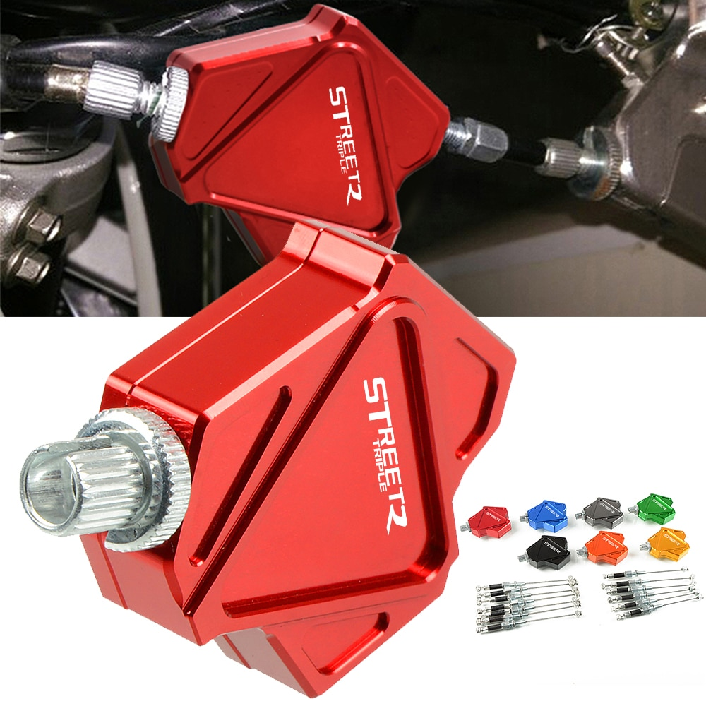 Motorcycle Accessories CNC Aluminum Easy Pull Stunt Clutch Lever System For TRIUMRH 675STREETTRIPLE 675 STREET TRIPLE 2008-2015