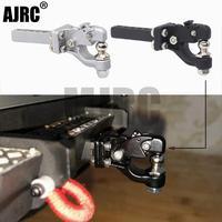 AJRC RC автомобильный металлический буксирный крюк, ресивер для 1/10 RC Гусеничный Traxxas TRX4 TRX-6 G63 осевой SCX10ii 90046 d90, обновленные детали