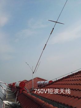 750V Positive V, 5-band Low-noise, High-efficiency Short-wave Antenna with Excellent Performance