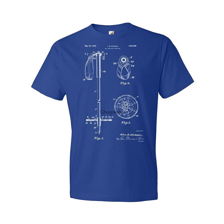 T-Shirt et anneau de poignée de poteau de Ski, brevet Earth, T-Shirt de Ski, cadeau de Skier