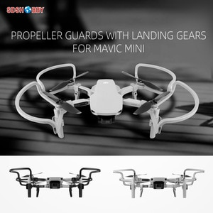 Sunnylife Propeller Guards Protectors Shielding Rings with Landing Gears for Mini 2/Mavic Mini