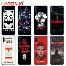Caja del teléfono de silicona caso de la cubierta para Samsung Galaxy S10 E PLUS A10 A20 A30 A40 A50 A70 A10E A20E M20 cubierta señor Robot