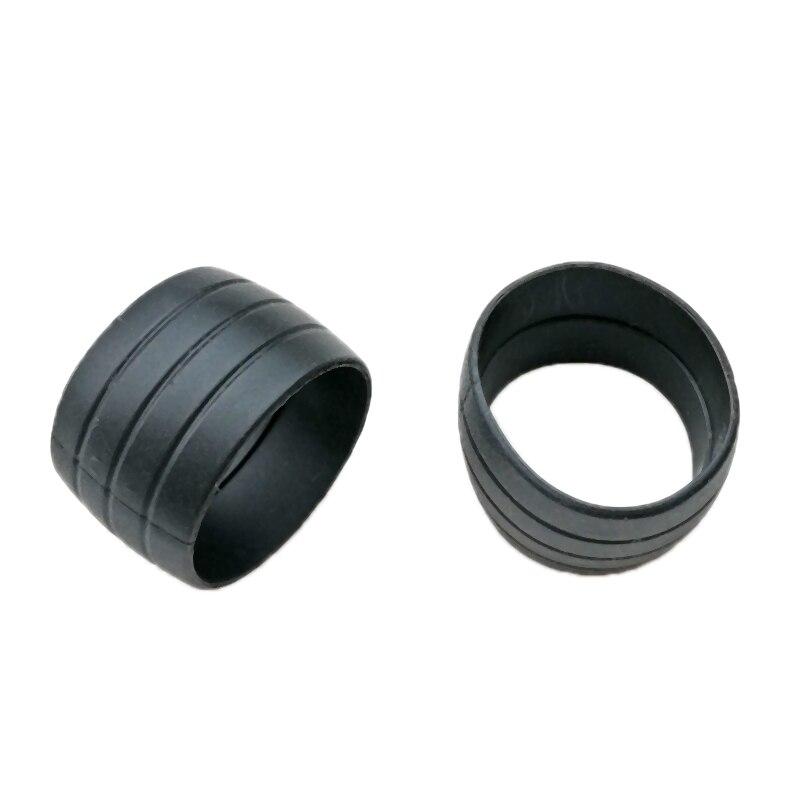 2Pcs Bicycle Handlebar Tape Fixing Loops Road Bike Handle Grip Wrap Holding Rings Cycling Bartape Strap Belt Fasten Sleeve black