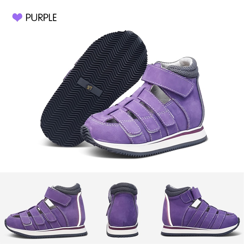 Kids Shoes Demin Season Children Genuine Leather Sandals For 2 To 12Years Girls Boys Toddler Luxury Orthopedic Arch Footwear enlarge