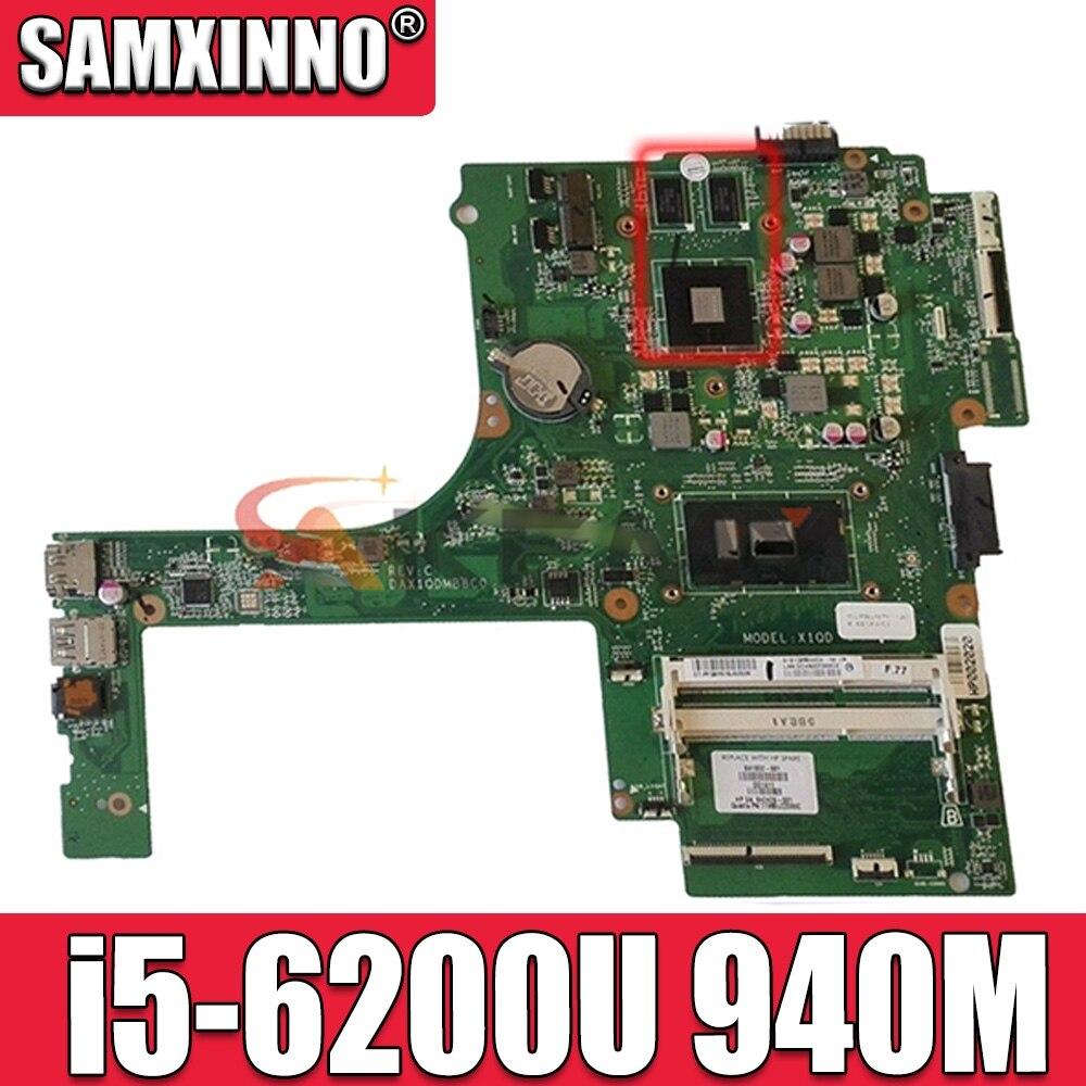 Akemy ل HP بافيليون 15-AK030NR 15-AK اللوحة المحمول 841932-601 841932-001 DAX1QDMB8C0 مع i5-6200U وحدة المعالجة المركزية 940 متر 2 جيجابايت