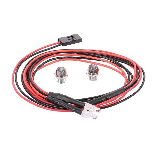 2 светодиодный светильник сзади светильник для хвостовой части автомобиля светильник для WPL C14 C24 B14 B24 B16 B36 Q60 Q61 Q62 Q63 Q64 Q65 на радиоуправлении