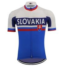 SLOVAKIA cycling jersey maillot outdoor short sleeve mtb jersey go pro triathlon bike clothing ropa ciclismo