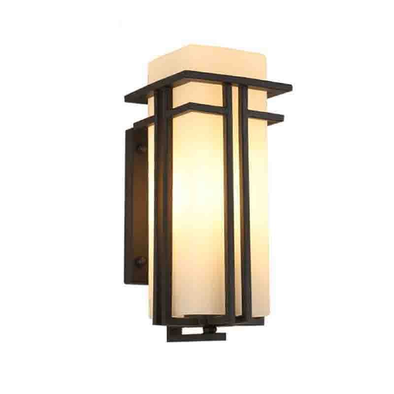 Waterproof Outdoor Wall Lamp European Outdoor Iron Lamp Stairs Retro Wall Sconce Modern Balcony Exterior Wall Light Chinese enlarge