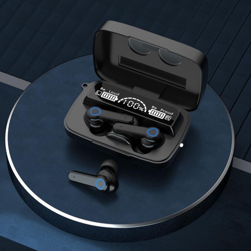 TWS Wireless Bluetooth 5.0 HIFI ANC in-ear Headset Multi-function Sports Headphone Binaural Call Earphone enlarge