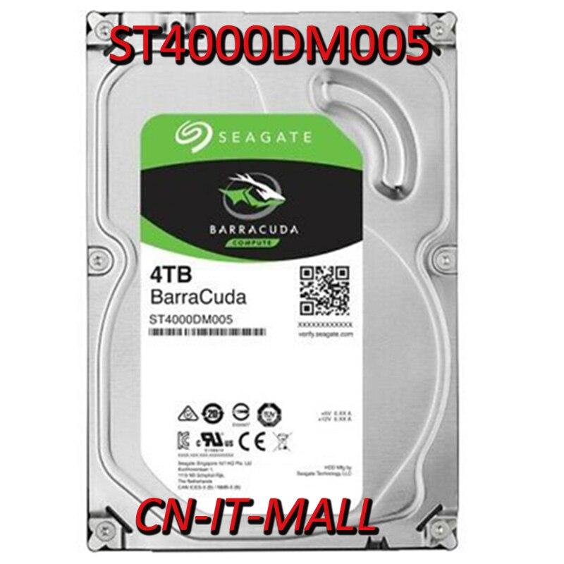 "Disco duro Seagate BarraCuda ST4000DM005 4TB 64MB, SATA 6,0 Gb/s 3,5"""