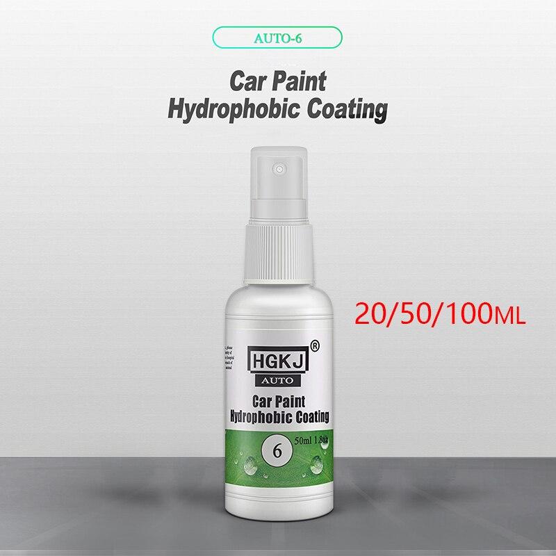 Автомобильное Нано покрытие гидрофобное полировочное для кузова автомобиля