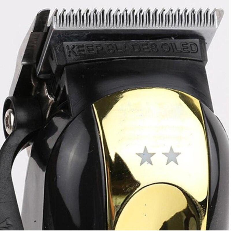 Magic Clip Hair Clipper Portable Cordless Black Gold Hair Trimmer Cutting Machine Professional Cutte