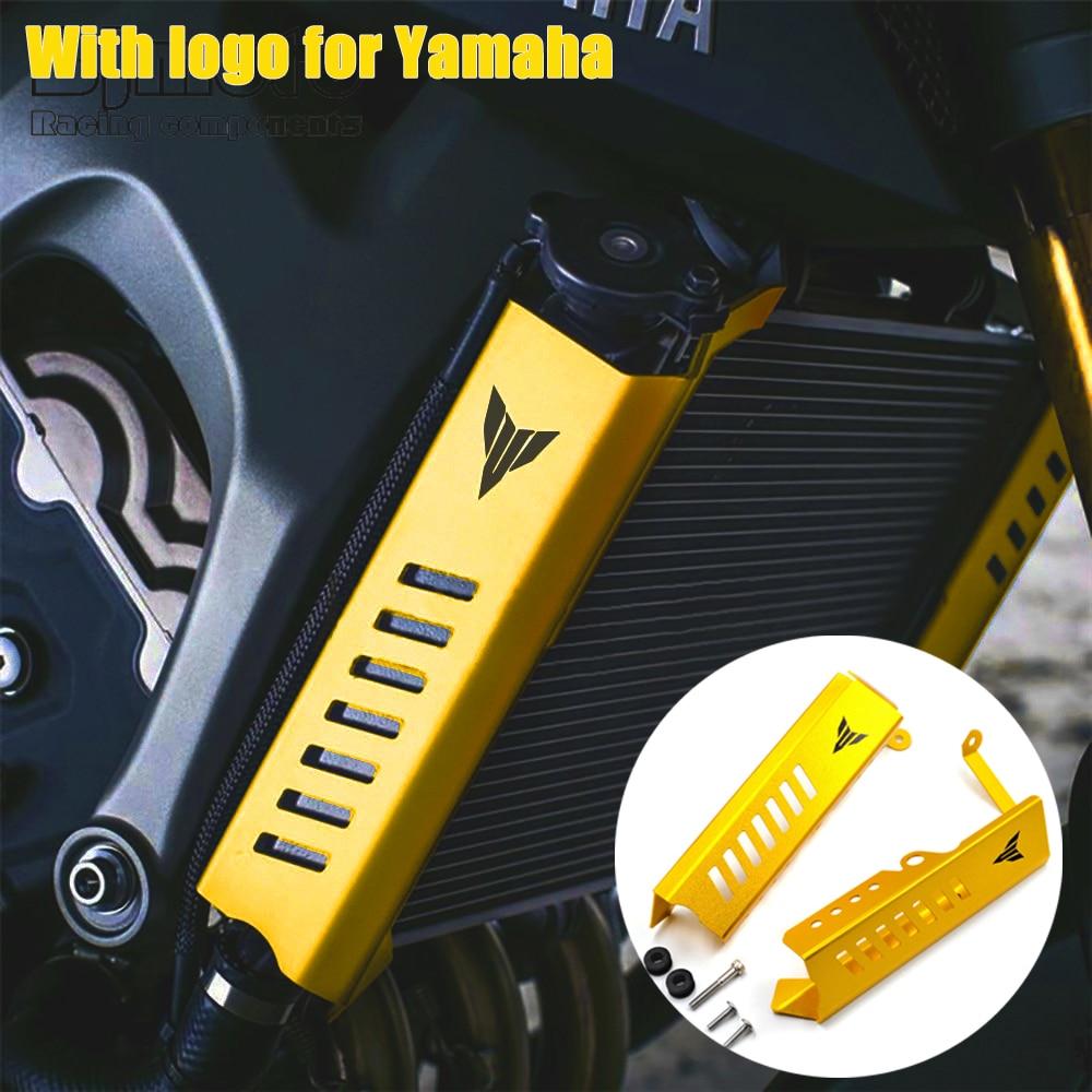 MT 09 MT-09 دراجة نارية المبرد الجانب مصبغة غطاء حماية لياماها MT09 2013-2016 FZ09 FZ 09 FZ-09 2013 2014 2215 2016
