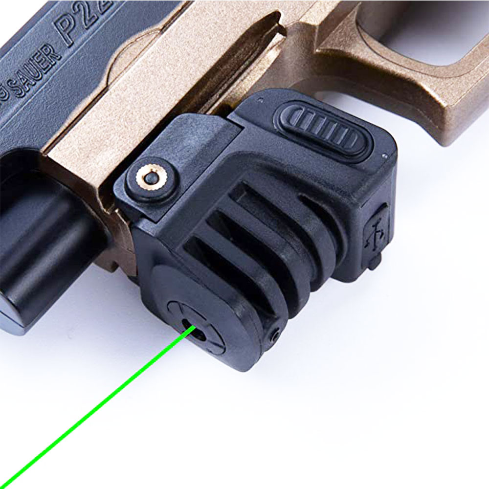 Military Red/Green Dot Laser Sight with Rechargeable Battery For Hunting mira laser g2c taurus acessórios