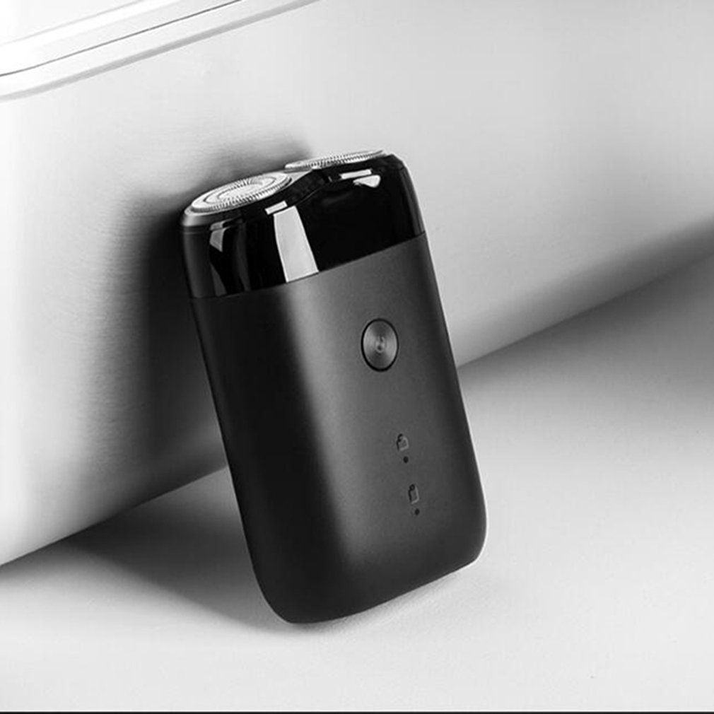 HOT Original Xiaomi Mijia MSX201 Electric Shaver For Men Rotating 2 Floating Head Portable Waterproof USB Rechargeable Razor