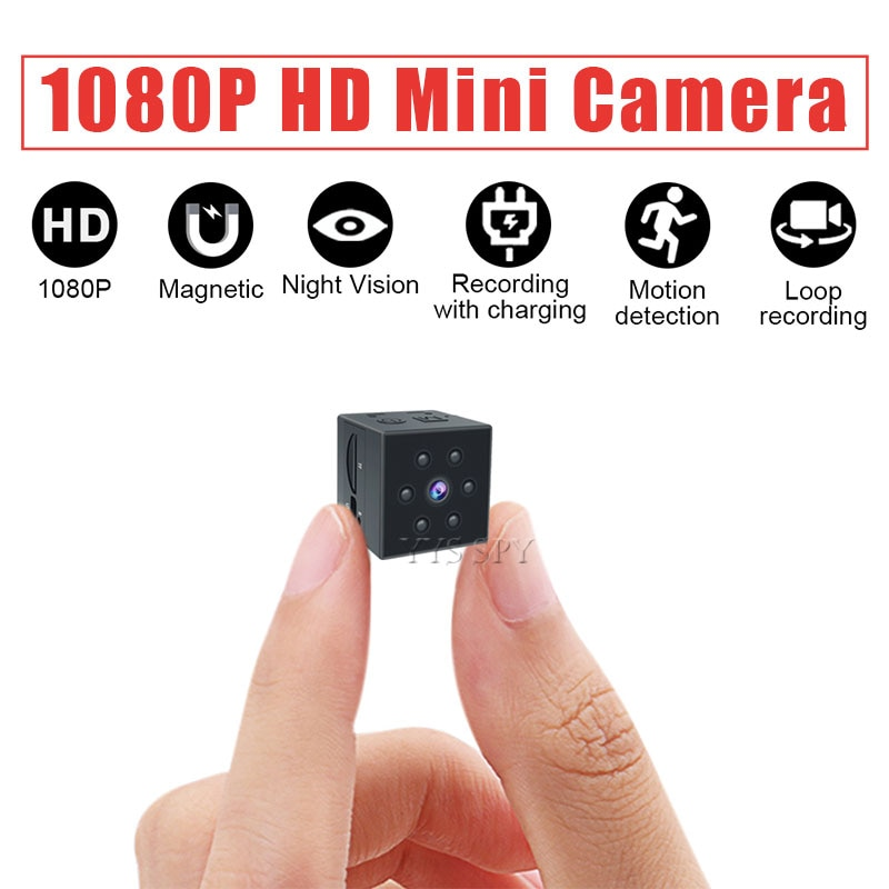 1080P Mini Camera Magnetic Camara Espia Oculta Motion Sensor IR Night Vision Full HD Video Audio Recorder Micro Cam Gizli Kamera
