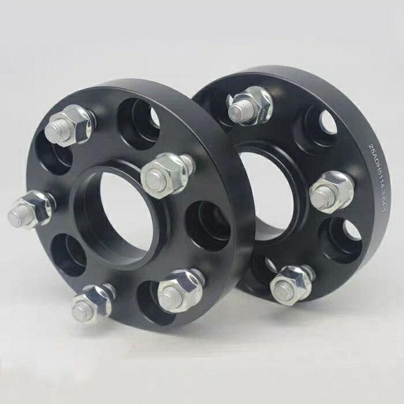 Espaciadores de rueda de aluminio para coche, adaptador para x-trail Teana Murano...
