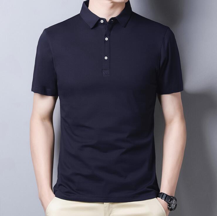 جديد 2021 قميص كلاسيكي من القطن للرجال كم قصير ملابس عملية غير رسمية عالية الجودة