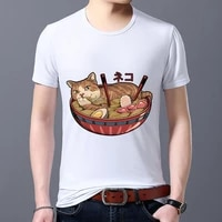 mens t shirt new personality trend cute print o neck short sleeved shirt everyday casual all match classic mens shirt