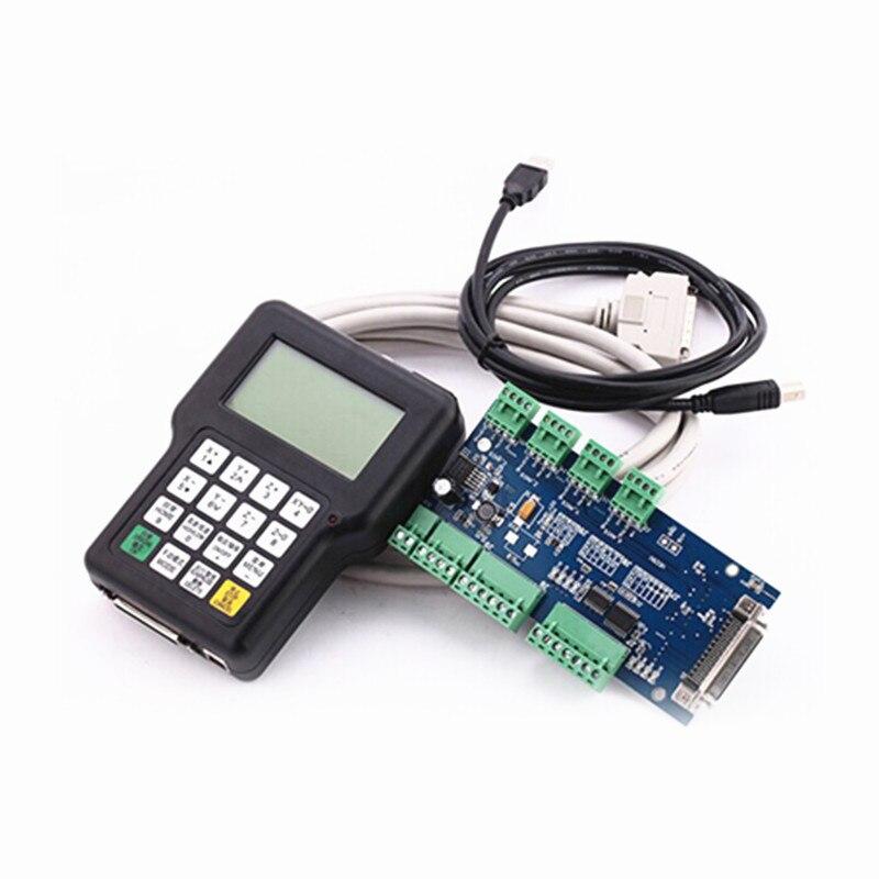 Controlador de controles DSPindustrial 0501 mango de canal inalámbrico versión inglesa remota para fresadora de grabado CNC DIY