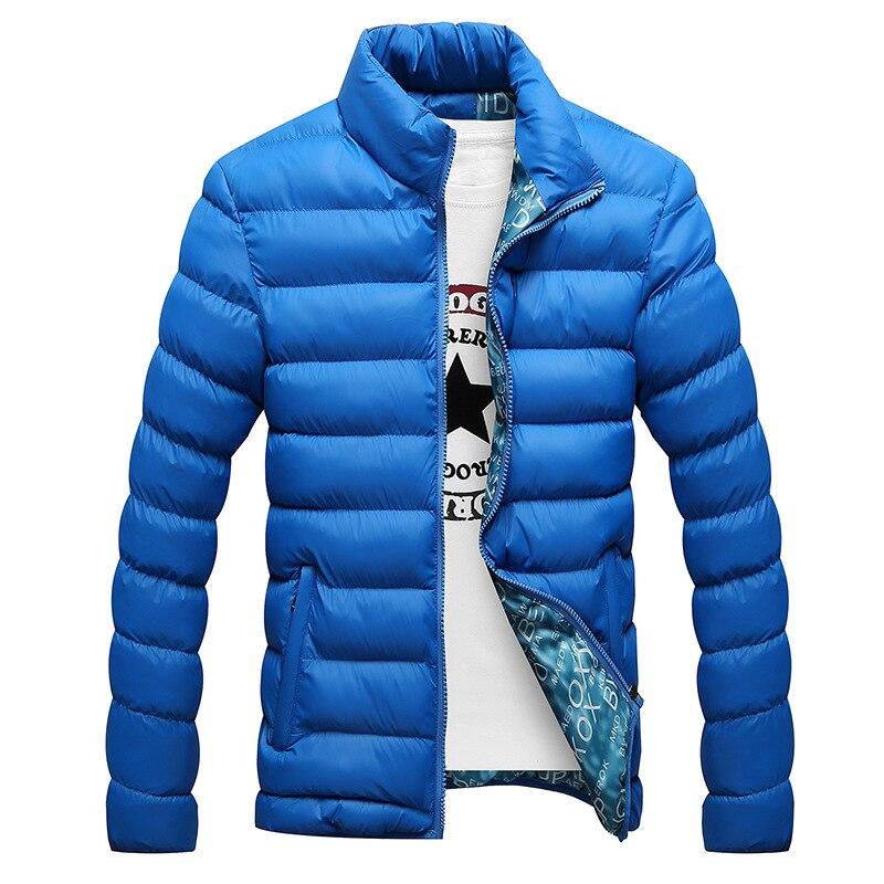 Новинка 2020, зимние куртки, парка, Мужская теплая верхняя одежда на осень и зиму, брендовые облегающие мужские пальто, Повседневная ветровка, ...