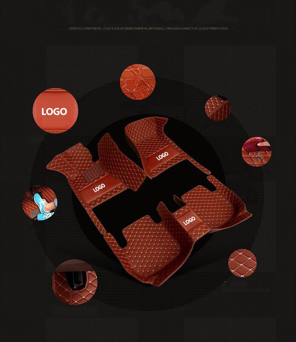 kalaisike Custom LOGO car floor mats for BMW all model f30 f10 f11 f25 f15 f34 X3 X1 X4 X5 X6 Z4 e46 e90 e60 e84 e83 e70 e53 g30 enlarge
