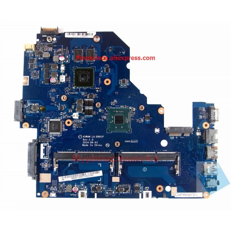 NBMQX11005 N2930 اللوحة لشركة أيسر أسباير E5-511G A5WAM LA-B981P