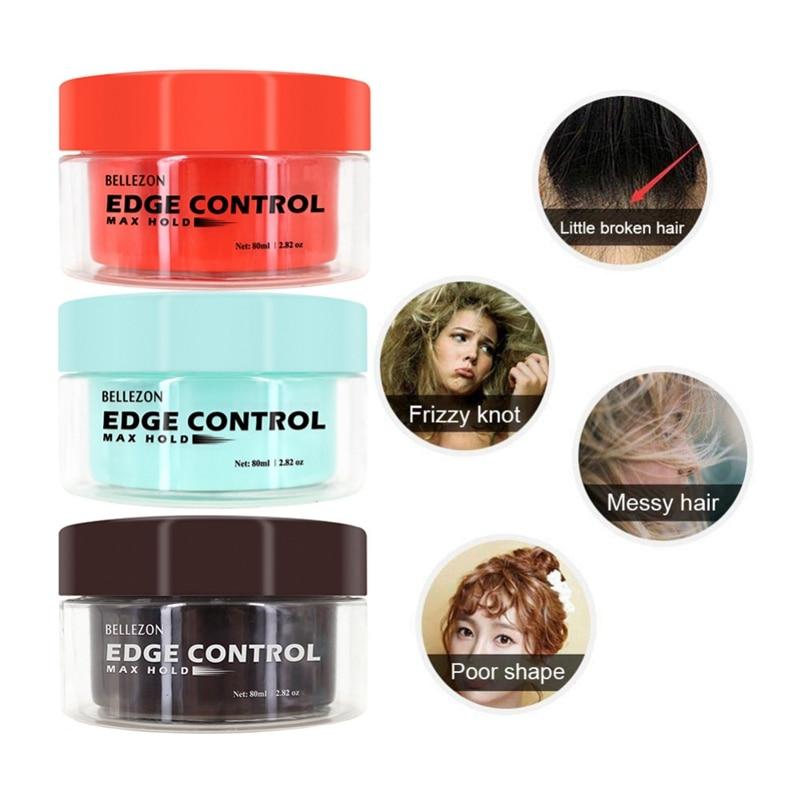 Long-Lasting Not Sticky Not Greasy Broken Hair Finishing Anti-Frizz Hair Fixative Gel Refreshing Hair Oil Wax Cream