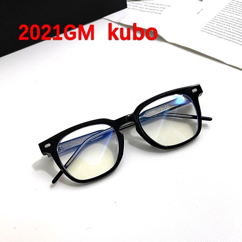 الكورية ماركة ساحة نظارات خلات الأسيتات إطارات النساء الرجال لطيف كوبو إطارات نظارات ل نظارات للقراءة قصر النظر وصفة طبية عدسة