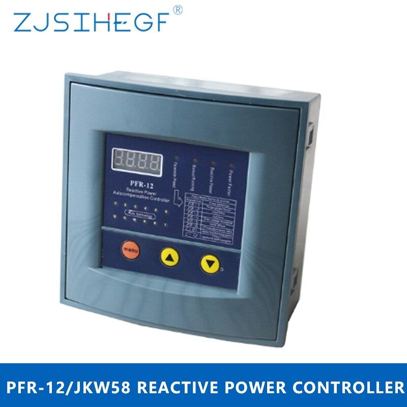 380v JKW58/PFR-12 الطاقة عامل منظم تحكم التعويض ل الطاقة عامل مكثف