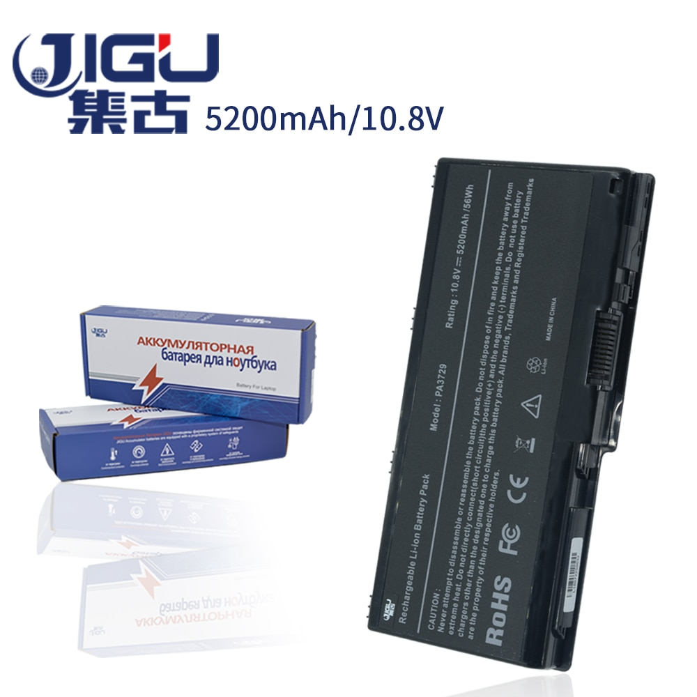 JIGU بطارية كمبيوتر محمول لتوشيبا PA3729U-1BRS للستالايت P505D سلسلة ل كوزميو 90LW G65 97K G60