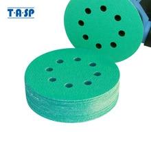 TASP - Disque abrasif 25 pièces 125mm, grain 60-400