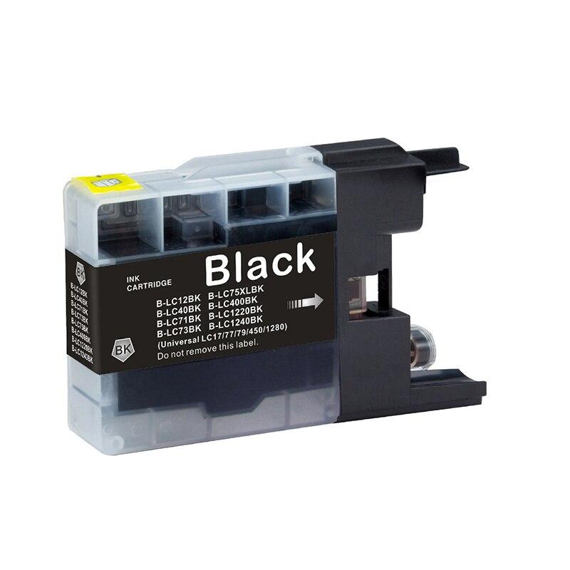LC12 LC40 LC71 LC73 LC75 LC400 cartuchos de tinta MFC-J5910CDW MFC-J825N MFC-J955DN MFC-J955DWN impresora de inyección de tinta