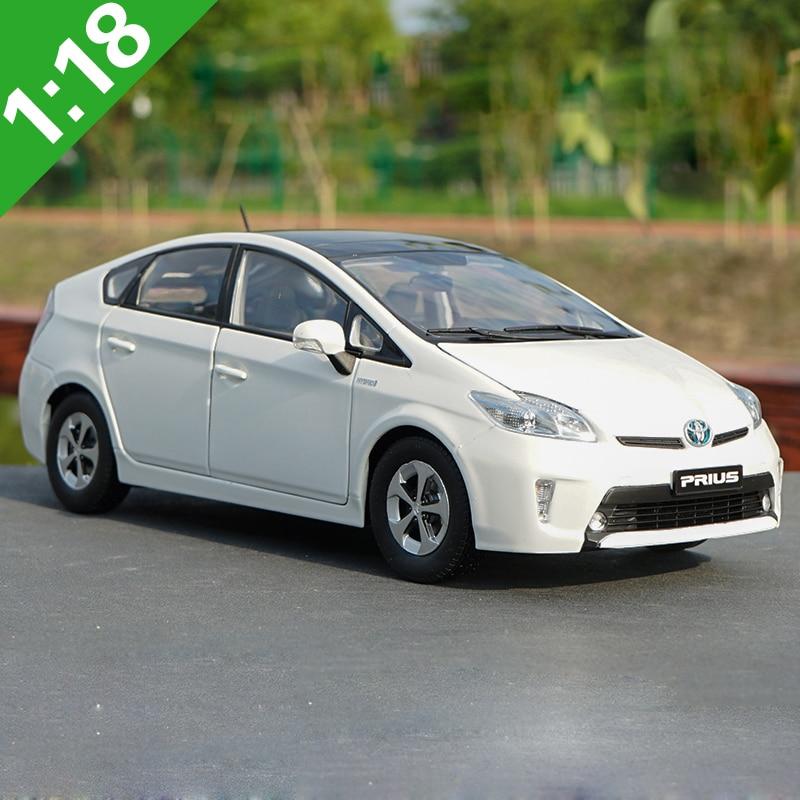118 Toyota PRIUS Hybrid Legierung Modell Auto Statische Metall Modell Fahrzeuge Original Box Für Geschenke Sammlung
