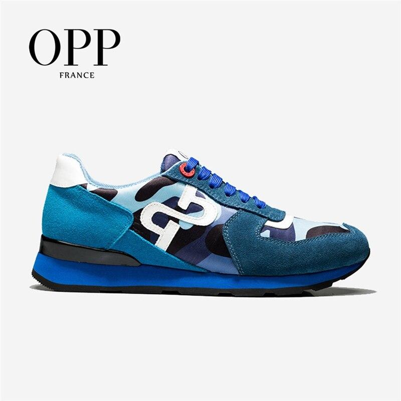 OPP-أحذية رياضية للرجال ، أحذية سفر مموهة مريحة ومتعددة الاستخدامات ، مقاس كبير
