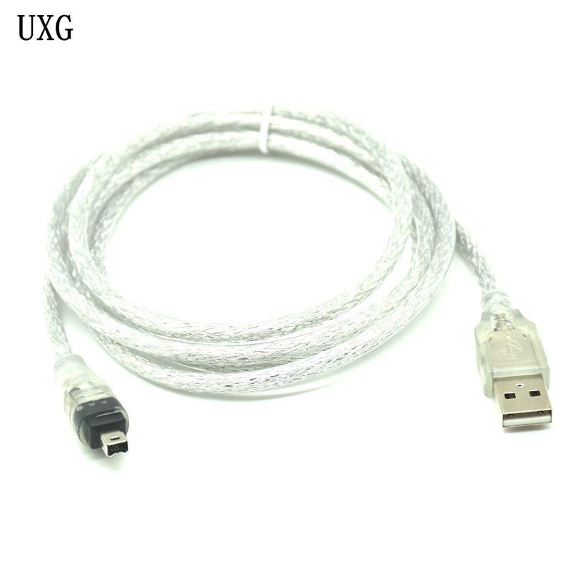 Cable USB macho a Firewire IEEE 1394 adaptador iLink macho de 4...
