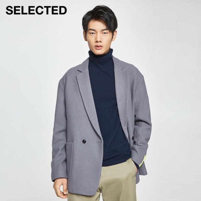 اختيار جديد الرجال عادية الخريف الكتف بدلة صوف الغنم سترة T | 420408006