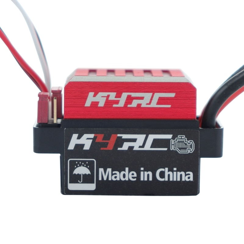 for 1/10 RC Crawler Axial Scx10 Trx4 1060 60A Waterproof Brushed ESC Speed Controller Forward Brake and Reverse Brake enlarge