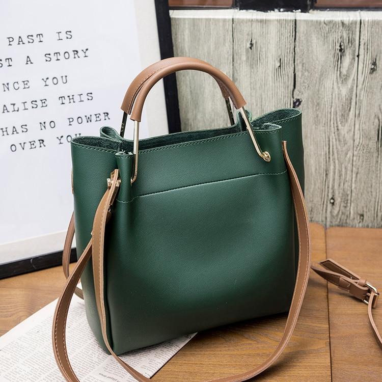 Women Leather handbag large capacity Woman Casual Tote Bag lady Messenger Shoulder Bag Brand design Big Totes bolsa black