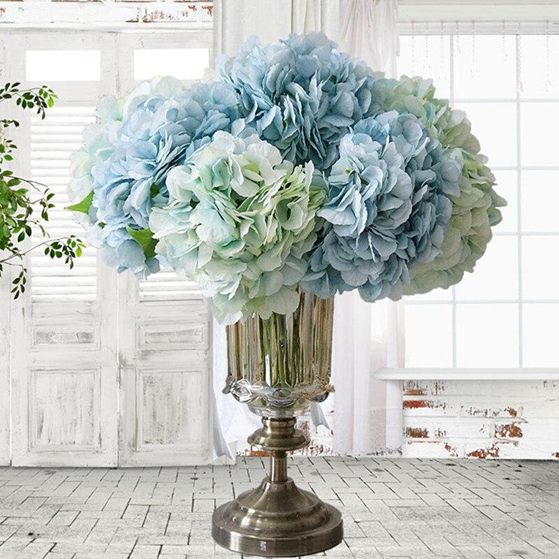 Искусственные пионы, цветы для дома, Свадебная вечеринка, день рождения, новый год, День Святого Валентина, Цветочный декор, шелковые гортензии, Цветочная композиция для вазы